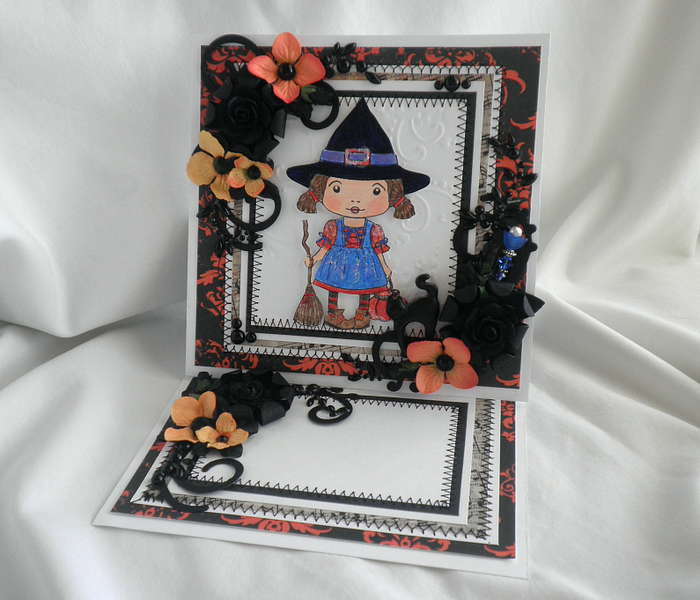 Hocus Pocus 6 x 6 Hold Out Card