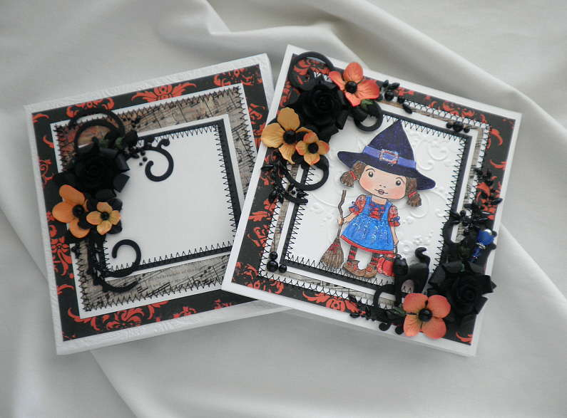 Hocus Pocus Handmade Card and Gift Box