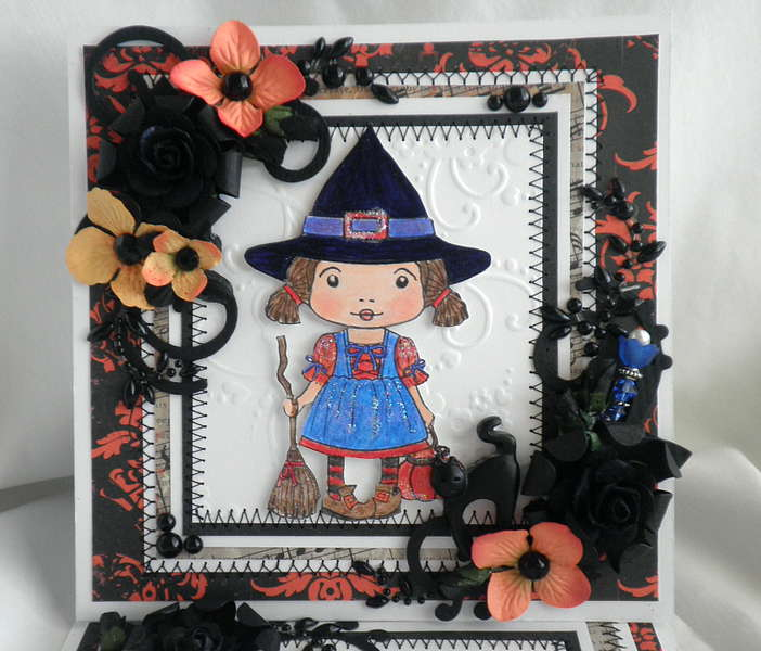 Hocus Pocus Lil Witch Card