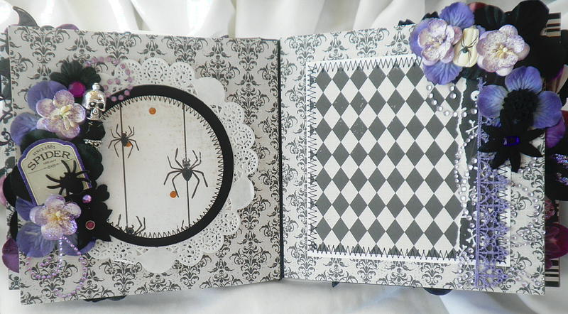 Halloween Lace Crystal Pages