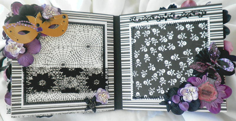 Halloween Party Lace Pages