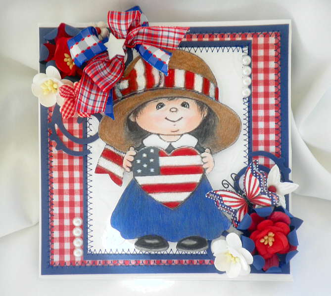 4th of July Summer Card