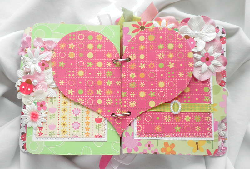 Hearts Ladybug Pages