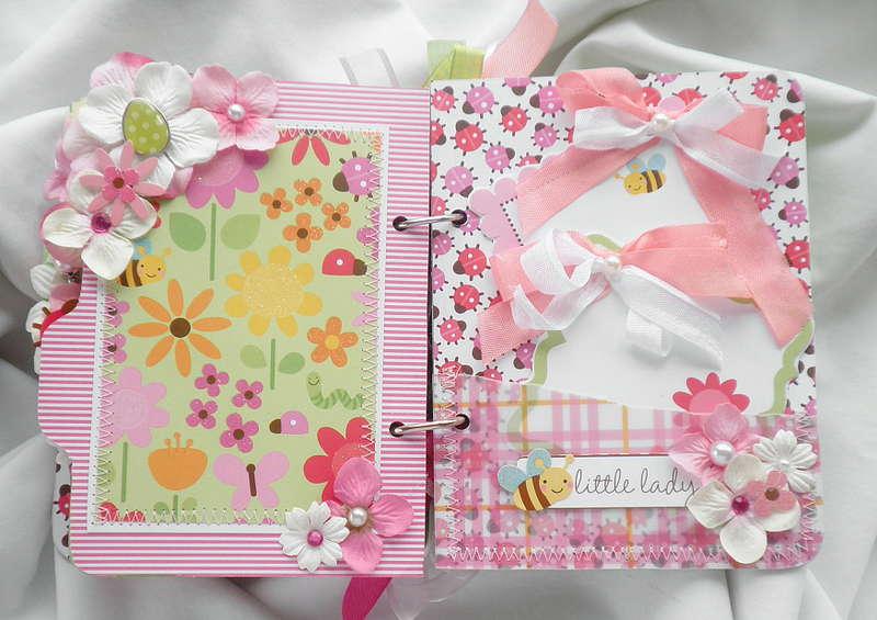 Ladybug Garden Pocket Tag Page