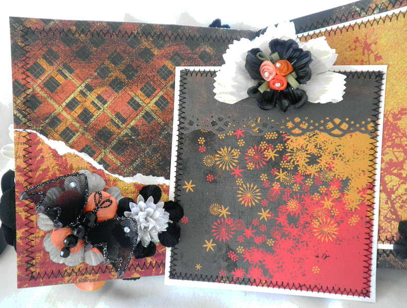 Halloween Night Lace/Roses Card Mate