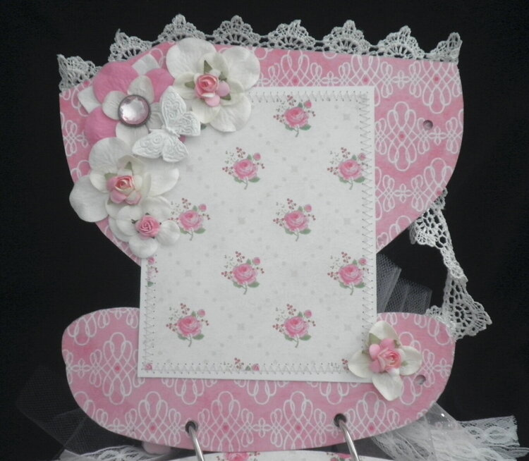 Lace Rose Shabby Cottage page