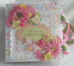 You Are My SunShine Girl Paper Bag Album