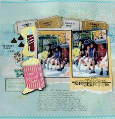 HersheyPark2006- AmusementPark & Diecutting, sketch challenges