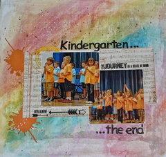 Kindergarten...the end