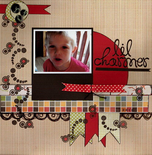 Lil Charmer - Feb. Scrap Person Before You
