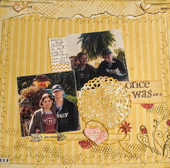 February 2 photo and stamping challenges - Once Was...