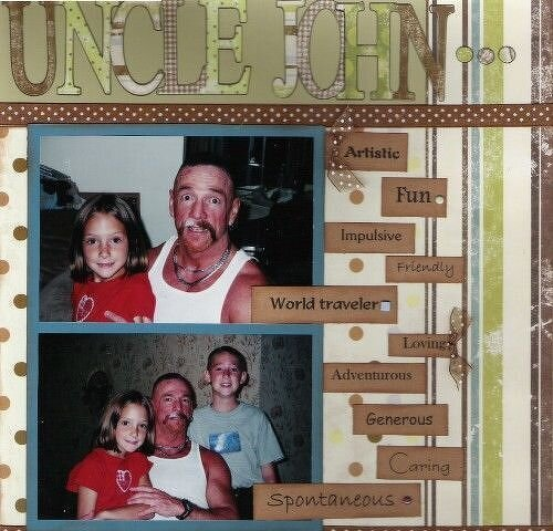 DW '06 ~ based on 11/9 ~ Uncle John