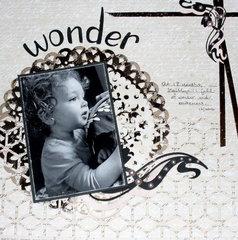 Cricut Challenge - Wonder