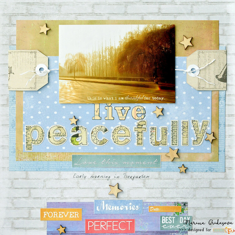 live peacefully