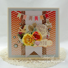 i ♥ you card