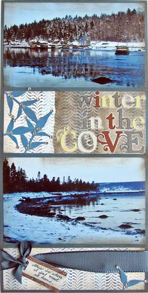Winter in the Cove 6x12 CJL