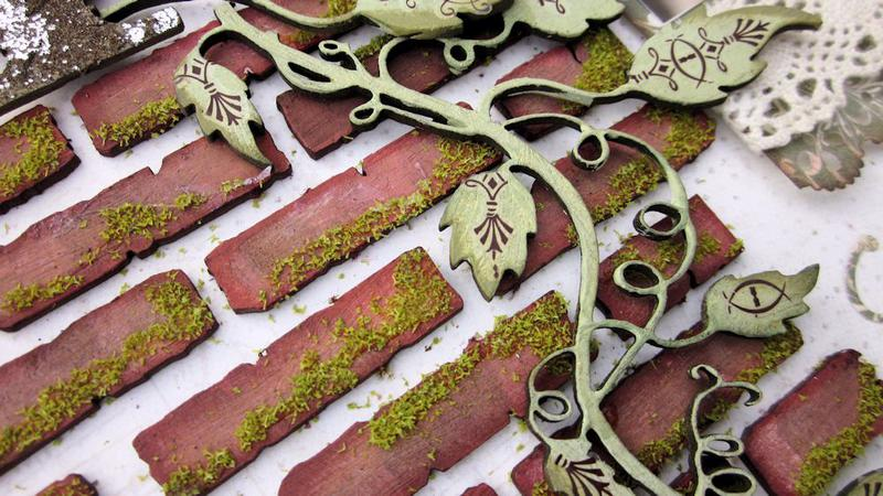 Garden Time - Brick Detail