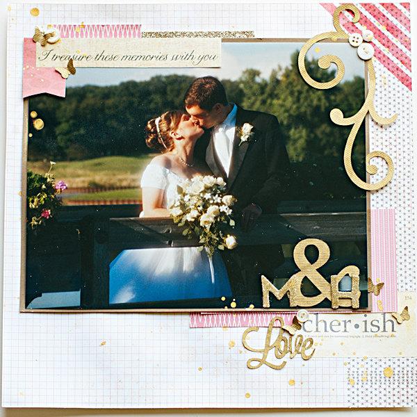 Wedding Album - title page