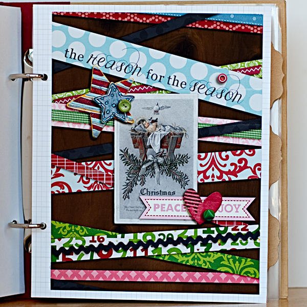 December Daily 2012 Filler Page