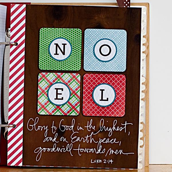December Daily 2012 Filler Page - Noel