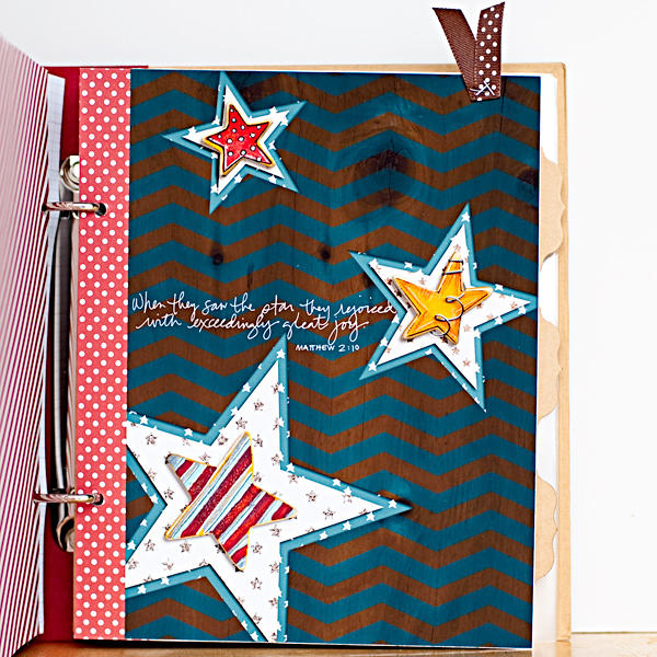 December Daily 2012 - Filler Page - Stars