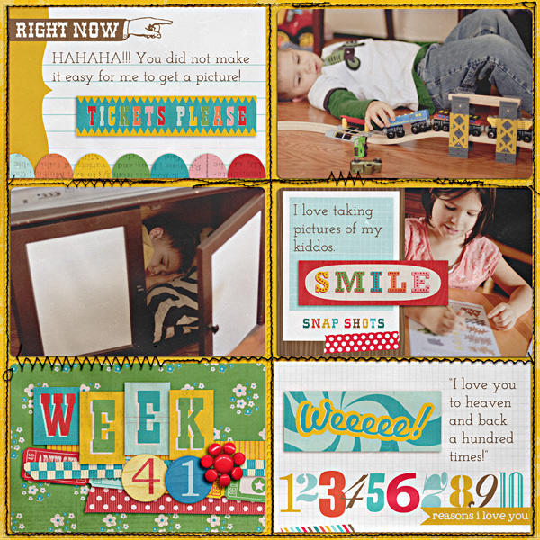 Project Life - Week 41 - Right