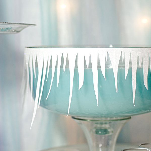 Frozen Inspired Punch Bowl