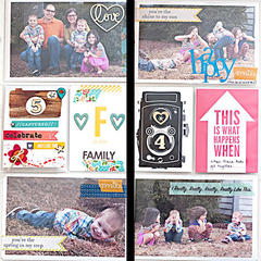 Project Life 2013 - Easter insert