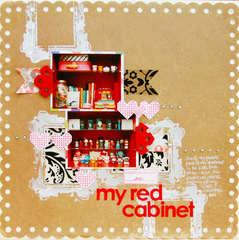 my red cabinet
