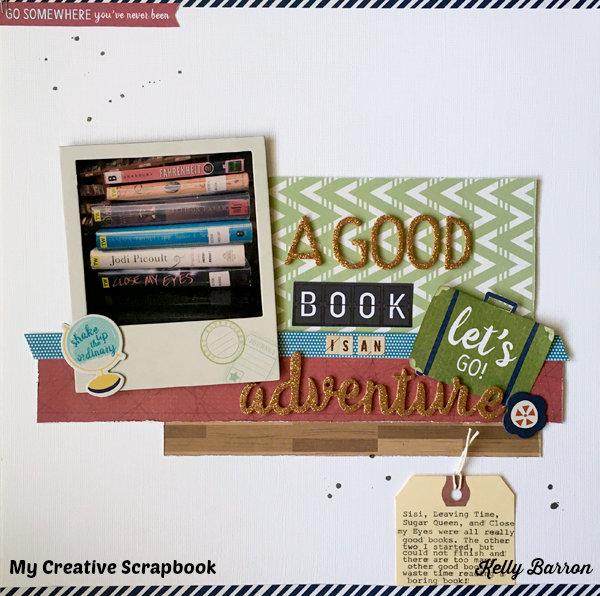 A Good Book Is An Adventure *My Creative Scrapbook*