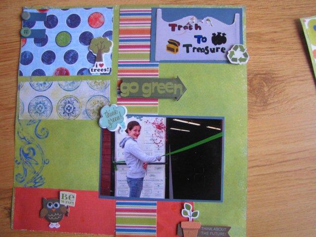 Go Green Treasure to Treasure
