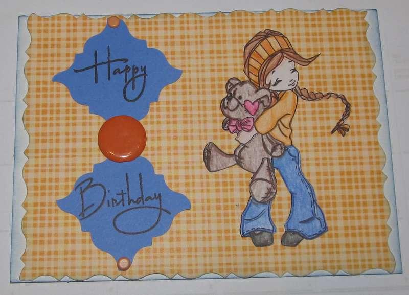 Jody's Birthday card 2012