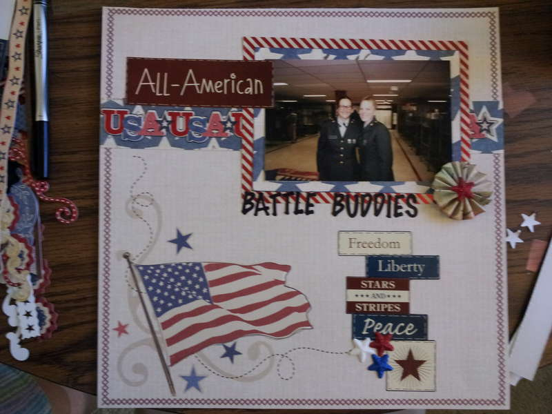 all american battle buddies-Jan scrap from your favs challenge