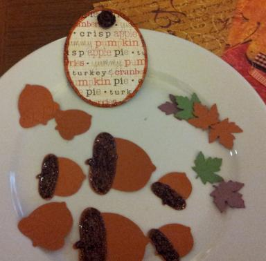More Embellishments for Oct Kit Challenge-Fall