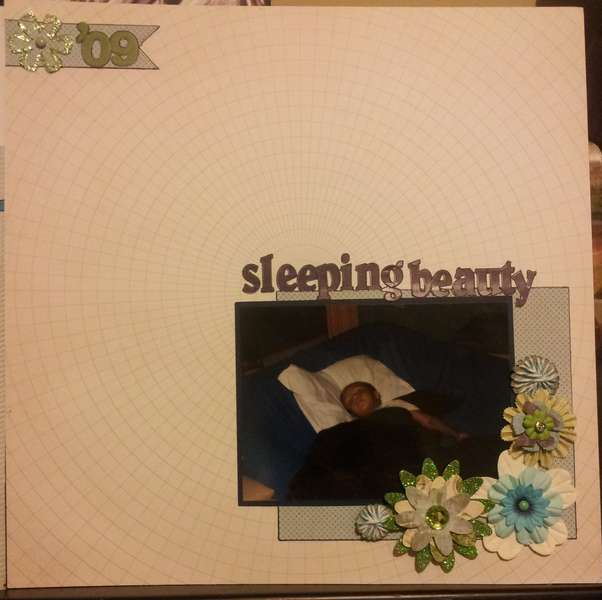 May SUbject Challenge-Sleeping beauty