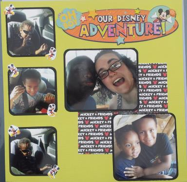 Our Disney Advenure