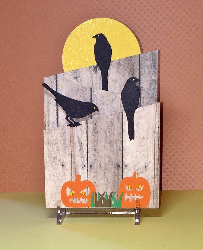 Halloween Fence Card