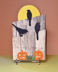 Halloween Fence Card