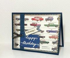 Car-Guy Birthday Card