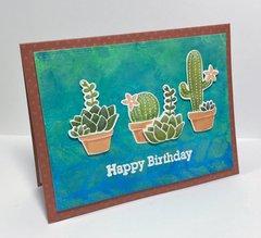 Cactus Happy Birthday