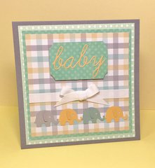 Baby Elephant Plaid