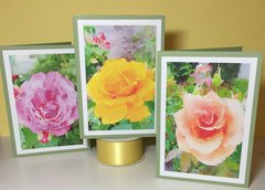 Rose Photo Cards