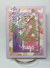 Butterfly Hugs Card