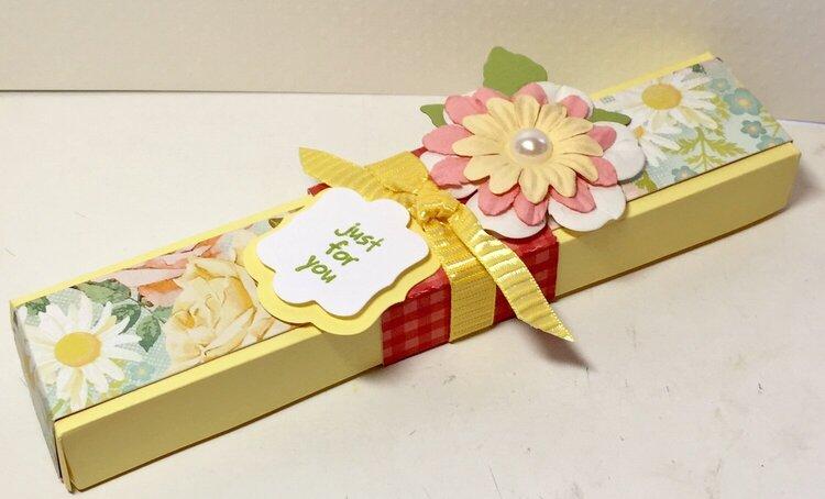 Gift box for chocolates