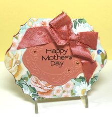 Mother's Day Self Standing card