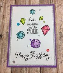 Gem Birthday Card