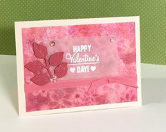 Watercolor Shimmer Valentine