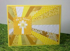 Easter Sunburst Card