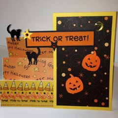 Halloween Pop-out card