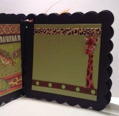 Safari Chipboard Mini-Album
